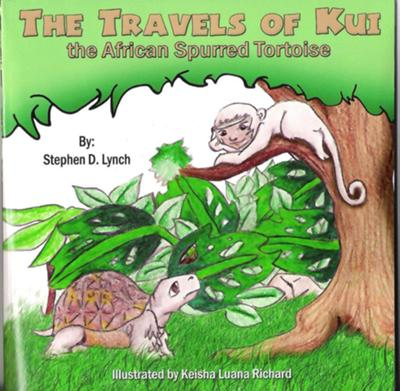 Get Kui's Book Online Now -- The Travels of Kui The African Spurred Tortoise
